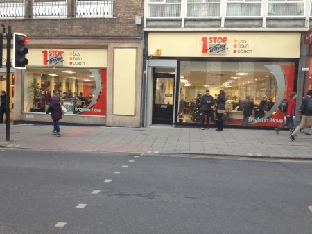 Stop Travel Shop Brighton Opening Times