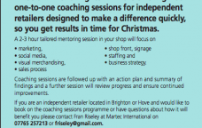 FREE 1-2-1 Xmas merchandise training for independent BID businesses - limited places