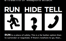Run Hide Tell  - Counter Terrorism Police Safety Information